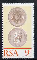 South Africa 1974 Centenary of the Burgerspond (Coin) unmounted mint, SG 342*
