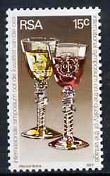 South Africa 1977 International Wine Symposium unmounted mint, SG 411*