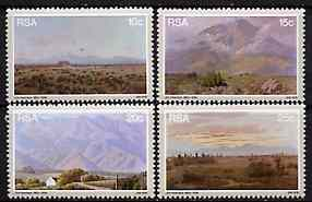 South Africa 1978 Birth Anniversary of Volschenk (painter) set of 4 unmounted mint, SG 444-47