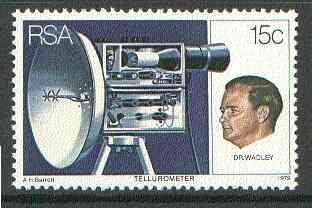 South Africa 1979 25th Anniversary of Tellurometer (Radio Distance Measurer) unmounted mint, SG 455*