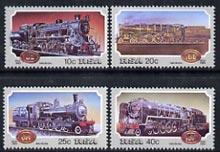 South Africa 1983 Steam Railway Locomotives set of 4 unmounted mint, SG 541-44*