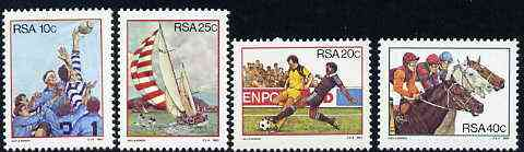 South Africa 1983 Sport in South Africa set of 4 unmounted mint, SG 545-48*