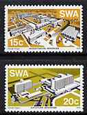 South West Africa 1976 Modern Buildings set of 2 unmounted mint, SG 293-94