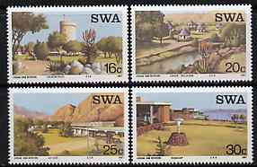 South West Africa 1987 Tourist Camps set of 4 unmounted mint, SG 479-82*, stamps on tourism