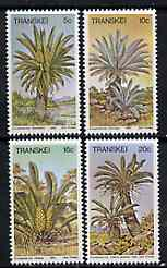 Transkei 1980 Cycads set of 4 unmounted mint, SG 71-74