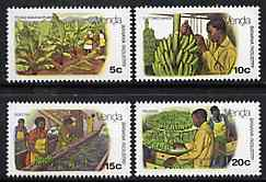 Venda 1980 Banana Cultivation set of 4 unmounted mint, SG 30-33