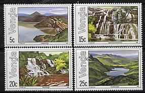 Venda 1981 Lakes & Waterfalls set of 4 unmounted mint, SG 42-45*