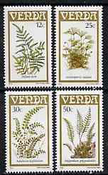Venda 1985 Ferns set of 4 unmounted mint, SG 115-18*