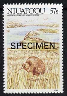 Tonga - Niuafo'ou 1988 Kiwi 57s opt'd SPECIMEN from Islands of Polynesia set, unmounted mint as SG 109*