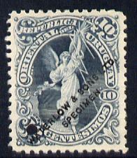 Uruguay 1897 10p Printer