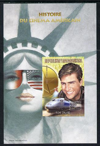Madagascar 1999 History of American Cinema - Tom Cruise imperf m/sheet unmounted mint. Note this item is privately produced and is offered purely on its thematic appeal