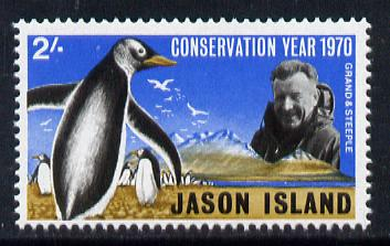Cinderella - Jason Island (Falkland Islands) 1970 Conservation Year 2s unmounted mint