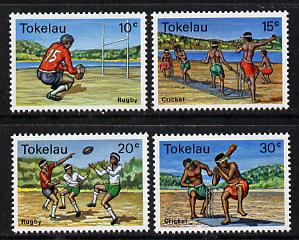 Tokelau 1979 Local Sports perf set of 4 unmounted mint, SG 69-72