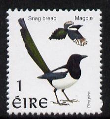 Ireland 1997-2000 Birds - Magpie 1p unmounted mint SG 1031
