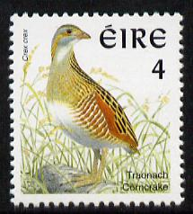 Ireland 1997-2000 Birds - Corncrake 4p unmounted mint SG 1033
