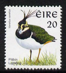 Ireland 1997-2000 Birds - Lapwing 20p unmounted mint SG 1036