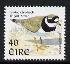 Ireland 1997-2000 Birds - Ringed Plover 40p unmounted mint SG 1055