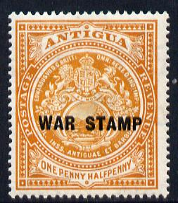 Antigua 1916-17 War Tax 1.5d orange mounted mint SG 54