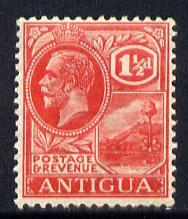 Antigua 1921-29 KG5 Script CA 1.5d carmine-red mounted mint SG 68