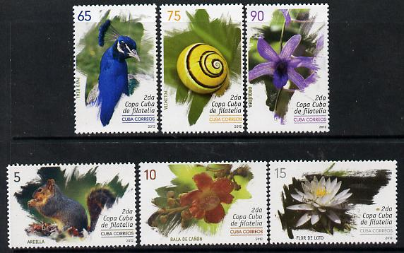 Cuba 2012 Flora & Fauna perf set of 6 unmounted mint