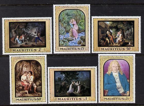 Mauritius 1968 Bicentenary of Bernardin de St Pierre's Visit set of 6 unmounted mint SG 376-81