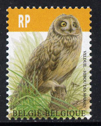 Belgium 2010-14 Birds - Short-Eared Owl 4.35 Euro unmounted mint