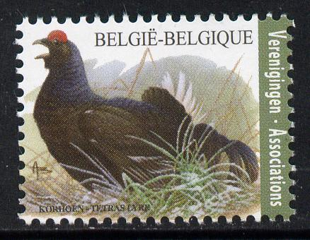 Belgium 2010-14 Birds - Black Grouse 0.40 Euro unmounted mint