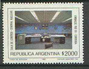 Argentine Republic 1982 Atomic Energy set of 2, SG 1776-77 unmounted mint*