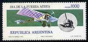 Argentine Republic 1981 Air Force Day unmounted mint, SG 1715*