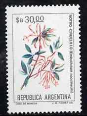 Argentine Republic 1983 Flowers 30p (Embothrium coccineum) unmounted mint SG 1832, Mi 1682*