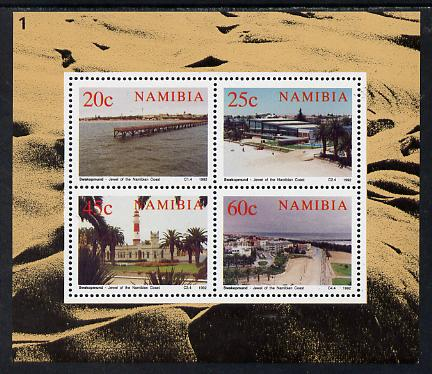 Namibia 1992 Centenary of Swakopmund perf m/sheet unmounted mint, SG MS 596