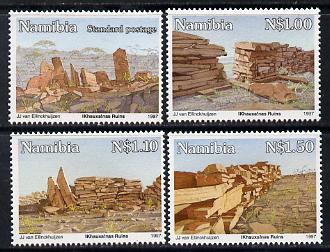 Namibia 1997 Khauxainas Ruins perf set of 4 unmounted mint SG 701-4