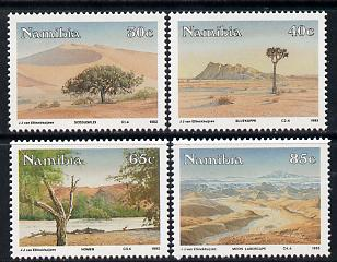 Namibia 1993 Namib Desert Scenery perf set of 4 unmounted mint SG 615-8