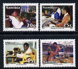 Namibia 1992 Intergration of the Disabled perf set of 4 unmounted mint SG 602-5