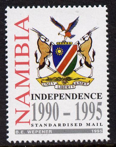 Namibia 1995 Fifth Anniversary of Independence 35c unmounted mint SG 662