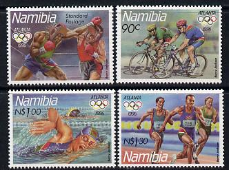 Namibia 1996 Atlanta Olympic Games perf set of 4 unmounted mint SG 688-91