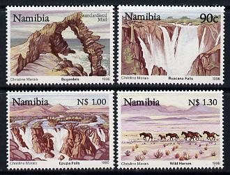 Namibia 1996 Tourism perf set of 4 unmounted mint SG 677-80