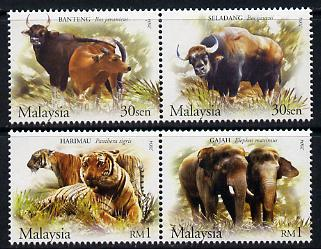 Malaysia 2004 Wildlife of the Forest perf set of 4 unmounted mint SG 1204-07