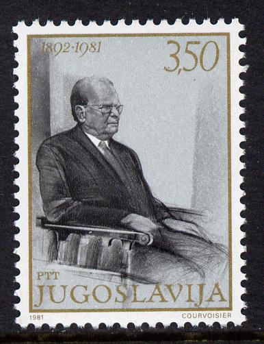 Yugoslavia 1981 President Tito's 88th Birthday 3d50 unmounted mint, SG 1981