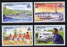 Vanuatu 1985 Independence/EXPO set of 4 unmounted mint SG 411-14