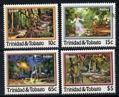 Trinidad & Tobago 1982 Folk Lore set of 4 unmounted mint, SG 609-12