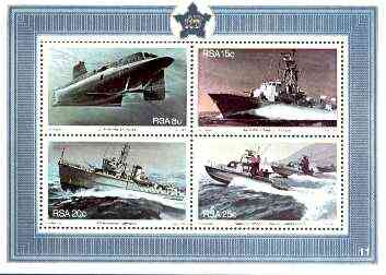 South Africa 1982 Anniversary of South African Navy m/sheet unmounted mint, SG MS 510