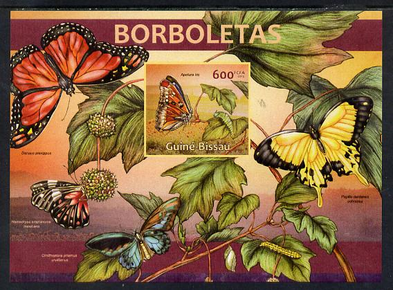 Guinea - Bissau 2013 Butterflies #03 imperf m/sheet unmounted mint. Note this item is privately produced and is offered purely on its thematic appeal