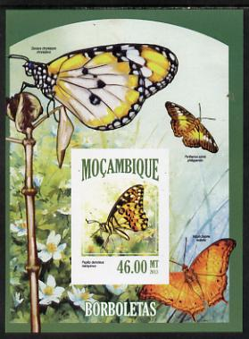 Mozambique 2013 Butterflies #5 imperf deluxe sheet unmounted mint. Note this item is privately produced and is offered purely on its thematic appeal