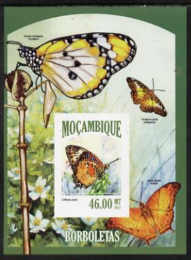 Mozambique 2013 Butterflies #8 imperf deluxe sheet unmounted mint. Note this item is privately produced and is offered purely on its thematic appeal