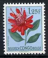 Belgian Congo 1952 Flowers 1f25 Protea unmounted mint SG 305*