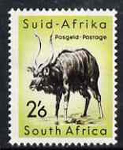 South Africa 1959 Nyala 2s6d from animals def set unmounted mint, SG 176