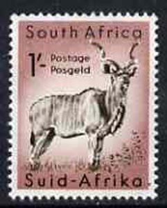 South Africa 1959 Greater Kudu from animals def set unmounted mint, SG 175
