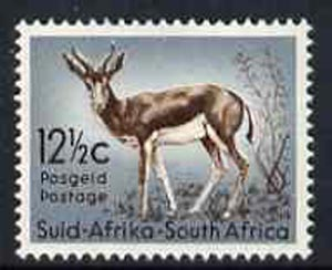 South Africa 1961 Springbok 12.5c from decimal def set unmounted mint, SG 194