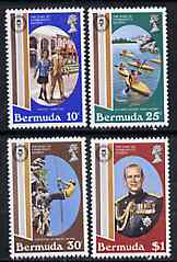 Bermuda 1981 Duke of Edinburgh Award Scheme set of 4 unmounted mint, SG 439-42